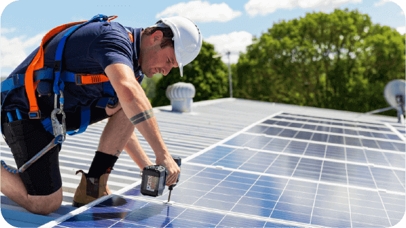 solar install