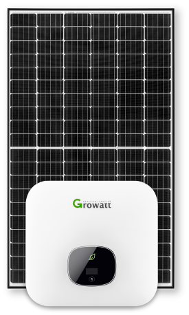 6.6 kW solar system with battery